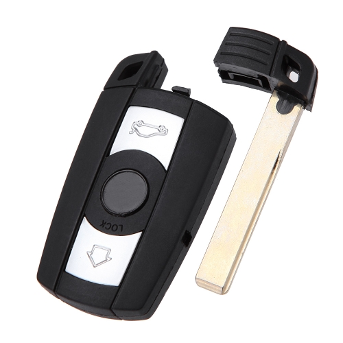 3 Button Smart Remote Key Shell Key Remote Fob Case BMW 1 3 5 6 7 E90 E93 E92 M3 M5 X3 X5