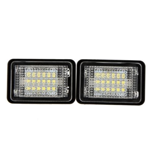 Buy Pair LED License Plate Light Lamp Benz GLK350 GLK X204(07~)