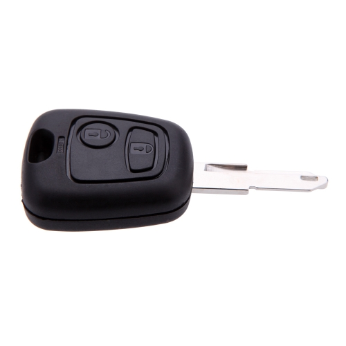 Buy Peugeot 206 2 Button Remote Key 433MHz + Transponder Chip ID46 P/N 73373067C