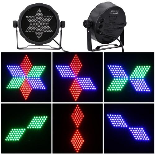Buy AC90-240V 25W 216 RGB LEDs Effect Light DMX512 Voice-control Stage Lighting Disco DJ KTV Bar Party Show