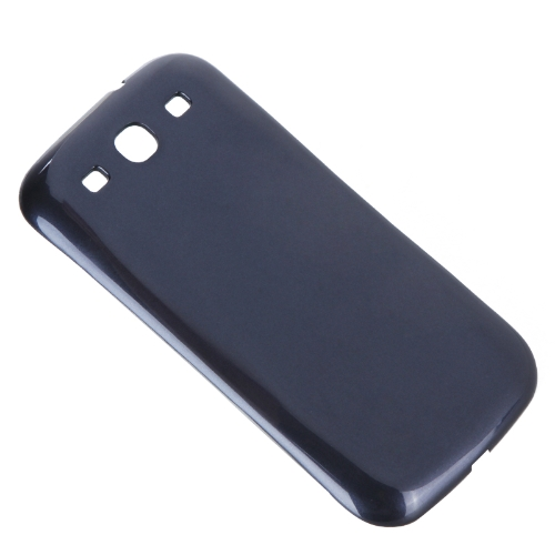 Qi Wireless Power Back Cover Case Charging Receiver for Samsung Galaxy S3 III i9300 Dark Blue