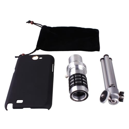 Buy Universal 12X Zoom Phone Telephoto Camera Lens Case Cover Kit Tripod