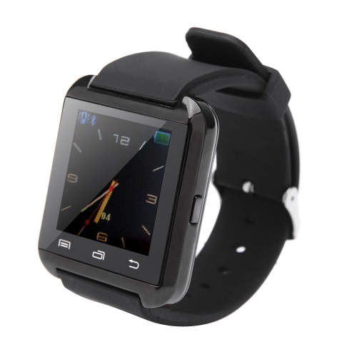 Buy U8 Plus Bluetooth Smart Watch Wrist iPhone 4/4S/5/5S IOS 7.1 Samsung S4/Note 2/Note 3 HTC Android Phone Smartphones Anti-lost Alarm Function Touch Screen