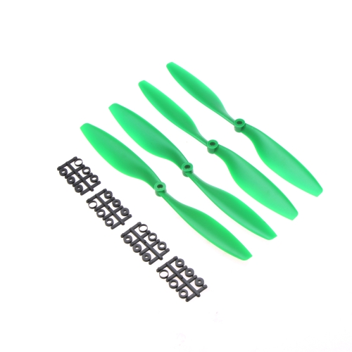 "2 Pairs Carbon Nylon 10x4.5"" 1045 1045R CW CCW Propeller Green for DJI F450 500 F550 FPV Multi-Copter QuadCopter APC от Tomtop.com INT"