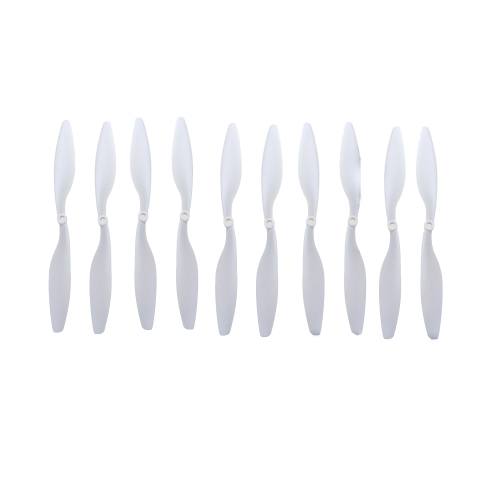 "5 Pairs Carbon Nylon 10x4.5"" 1045 1045R CW CCW Propeller White for DJI F450 500 F550 FPV Multi-Copter QuadCopter APC от Tomtop.com INT"