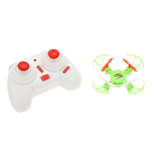 Wltoys V646 2.4G 4CH 6-axis Gyro Nano-sized Headless Mode RC Quadcopter Mini UFO w/ Propeller Protector Green/Yellow от Tomtop.com INT