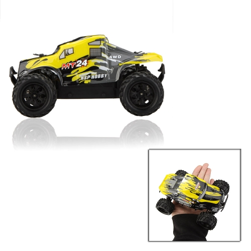 Buy Original HSP 94246 MT24 2.4G 1/24th Scale RC 4WD Electric Powered Monster Truck Toys Transmitter RTR