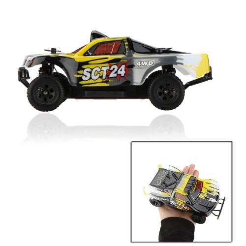 Buy Original HSP 94247 SCT24 2.4G 1/24th Scale RC 4WD Electric Powered Short Truck Car Toys Transmitter RTR
