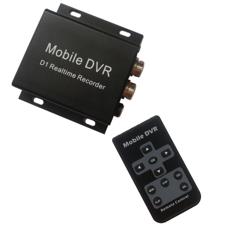 Buy 9V-30V Power Input 1 Channel Vehicle Use Mini Mobile HD DVR Max Support 32G SD Card Recording MPEG-4 Video Compression Car Charger Remote Controller