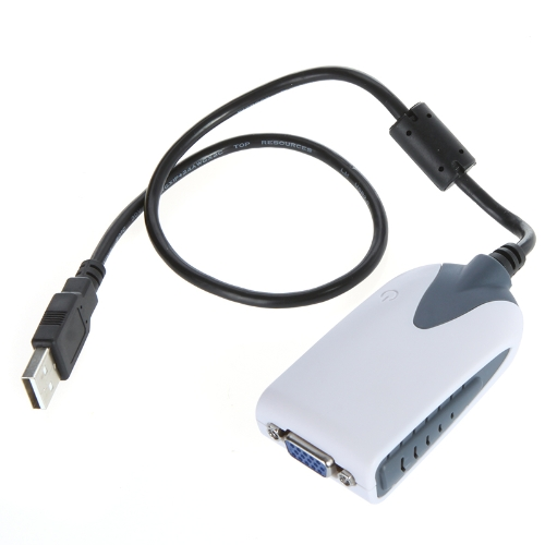 Buy USB 2.0 VGA Display Adapter Converter Extra Monitor Multi HDTV LCD PC Laptop Projector 2048 * 1152 1920 1080