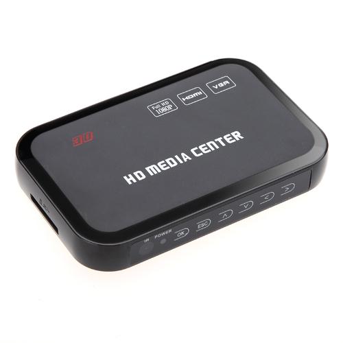 Buy Full HD 1080P Media Player Center RM/RMVB/AVI/MPEG Multi Video YPbPr VGA AV USB SD/MMC Port Remote Control