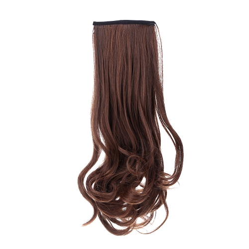 A Wig Pear Flower Mawei Fake Ponytail Ms Wavy Curly  Hair Bind Type