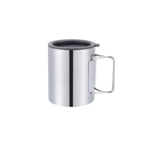 Thermal Camping Travelling Mug Cup Stainless Steel Water Cup Double Layer 280ml