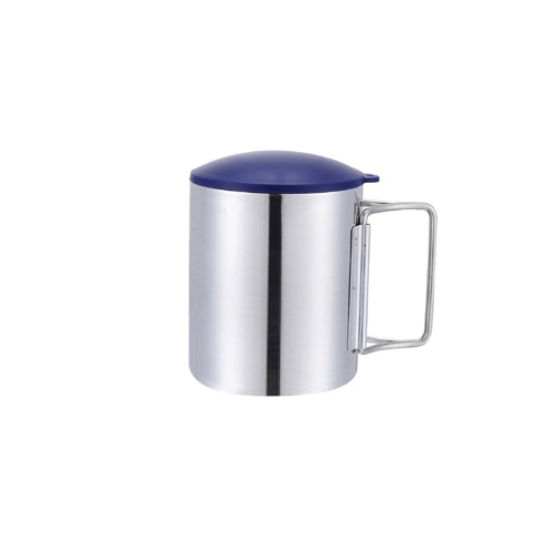 Buy Thermal Camping Travelling Mug Cup Stainless Steel Water Double Layer 220ml