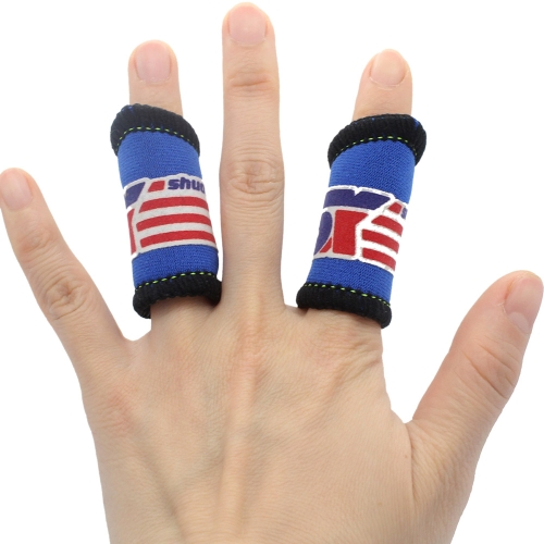 2Pcs Elastic Basketball Sports Fingers Brace Support Wrap Band Protection