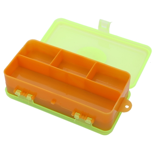 13.5 * 6.5 * 5cm Plastic Double Sides Fishing Tackle Box Two-Side Fishing Gear Fittings Storage Box for Fishing Lines Swivels Hooks Flies Lures + 5 Pcs Assorted Color Fishing Line Winders от Tomtop.com INT